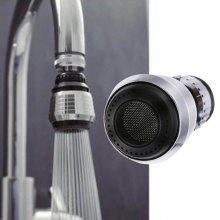 360 Degree Rotation Kitchen Water Faucet Bubbler Nozzle Filter Adapter
