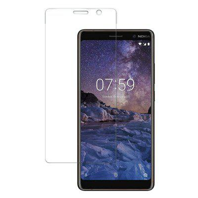 2PCS Screen Protector Protection Film HD Tempered Glass for Nokia 7 plus