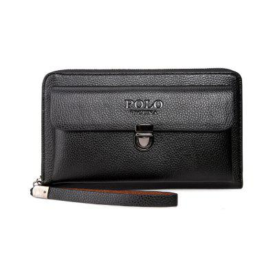 VICUNAPOLO V311 Simple and Elegant Atmosphere Men's Large-Capacity Clutch