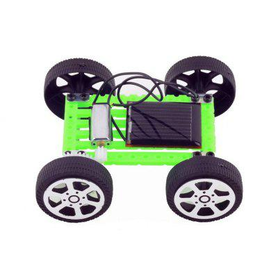 Mini Solar Toy Car Children Intelligence Educational Toy