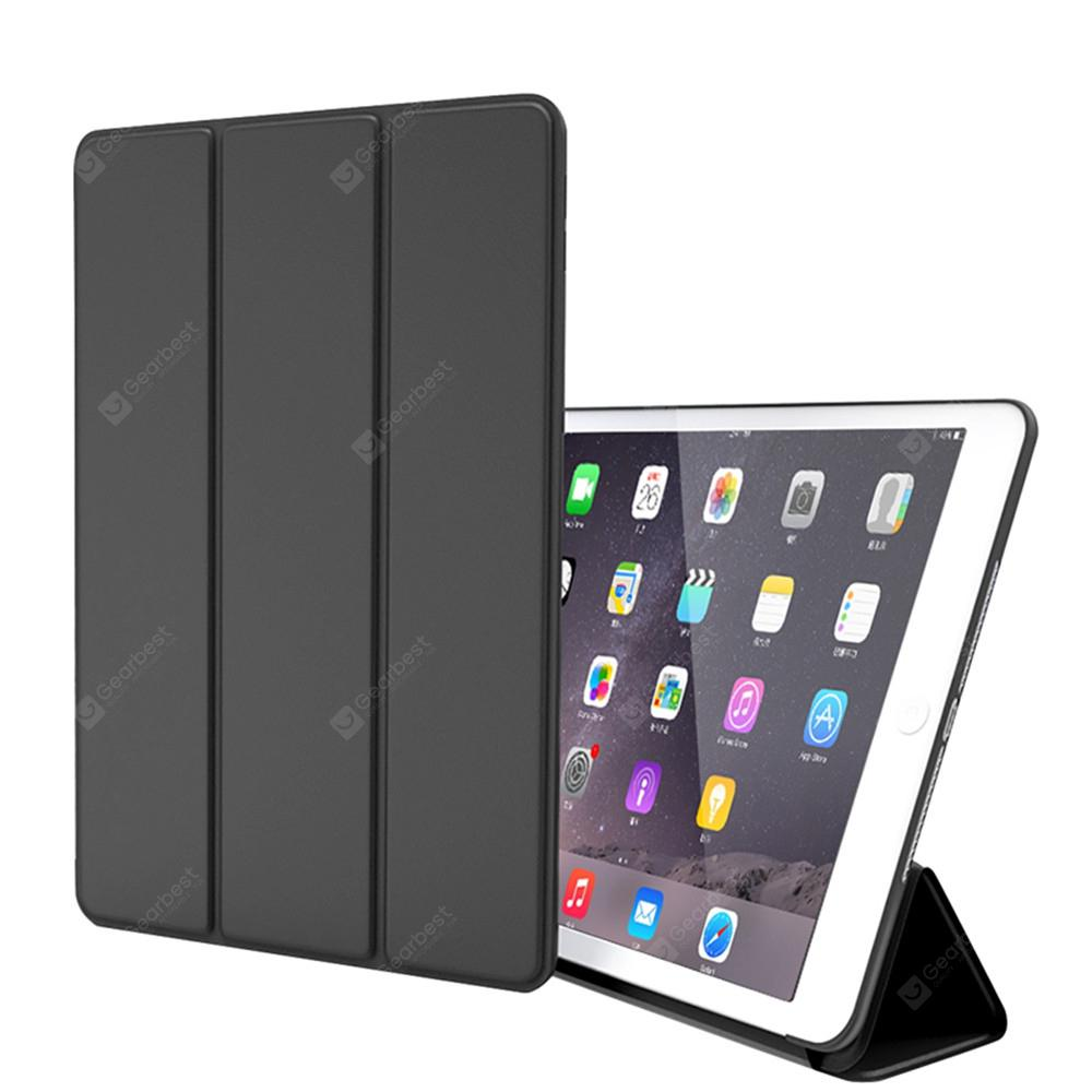 new arrival c2940 9ed0c Silicone Soft Leather Smart Cover Case for iPad Air / Air 2 / 9.7 (2017) /  (2018)