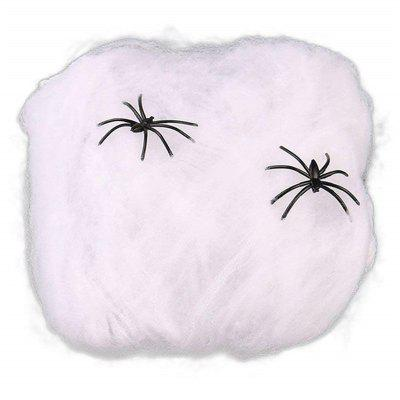 Creative Halloween Spider  Decorations Stretchable Cotton  Cob Webs