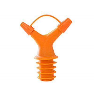 Double Head Bottle Mouth Stopper Oil with Cap