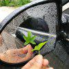 Car Rearview Mirror Water-Resist Protective Membrane Anti-Fog Anti-Glare Sticker - TRANSPARENT