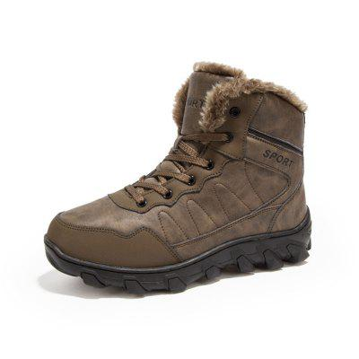 Winter Casual Warm Snow Boots For Men