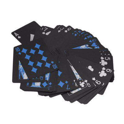 Black Diamond Cards Resistente al agua Deck Collection Poker Jugar Juguete Regalo Creativo