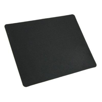 Black Slim Square Mouse Pad Mat Mousepad
