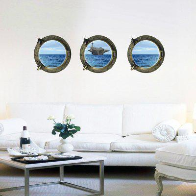 3D Landscape PVC Wall Stickers