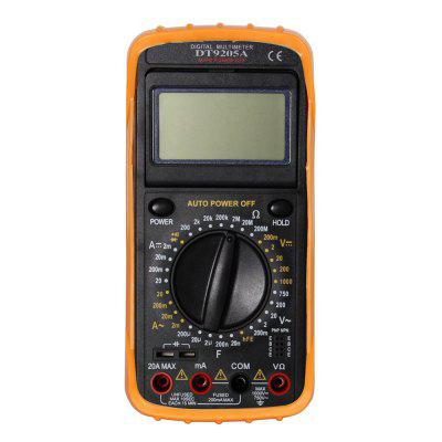 Ismartdigi DT9205A.4 LCD Handheld Digital Multimeter Using for Home Car
