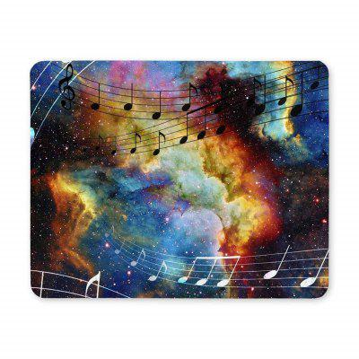 Non Slip Rubber Gaming Music and Light Mousepad