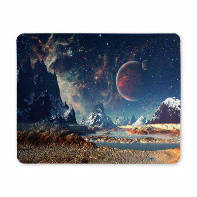 Non Slip Rubber Gaming Wide Sky Mousepad