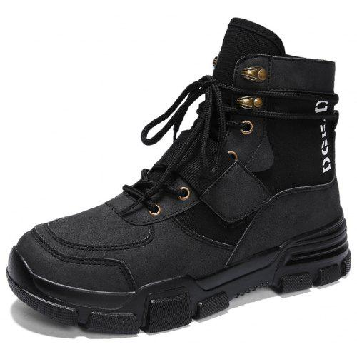 998d42bd4e24 Men High-Cut Outdoor Working Safety Boots