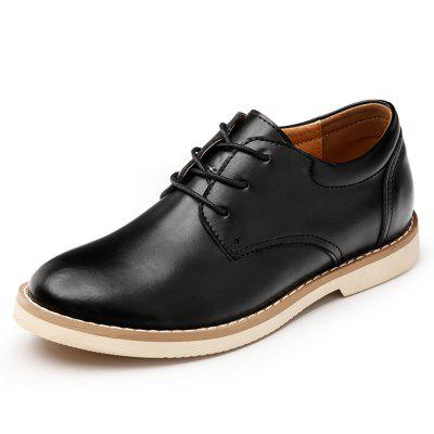 Men'S High Gloss and Low Leather Casual Shoes