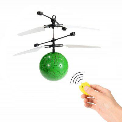 RC Infrared Induction Helicopter Ball Set-in Shinning LED Lights for Kids