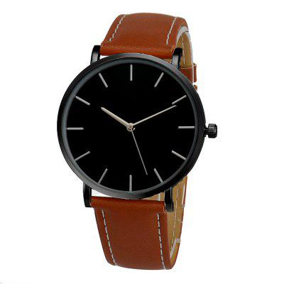 Fashion Vintage Casual Minimalist Analog Quartz Sport Wrist Watch