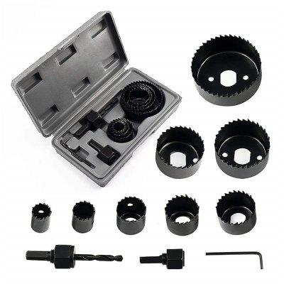 11PCS Hole Saw Woodworking Tool