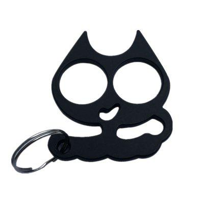 Self-Defense Cat Key Ring Emergency Metal Tool