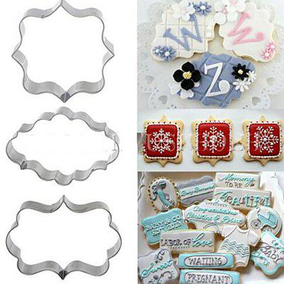 Frame Stainless Steel Baking Cake Moulds Chocolate Cookies Cutters
