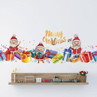 Merry Christmas PVC Wall Stickers