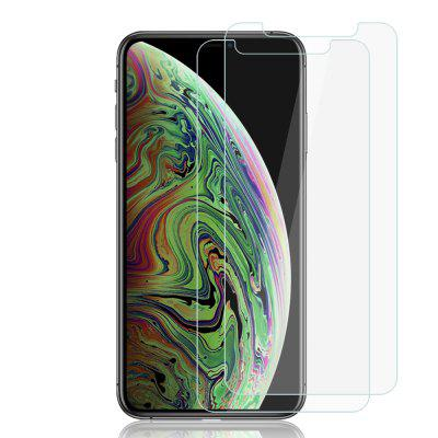 2PCS 9H Tempered Glass Screen Protector Film for iPhone XS