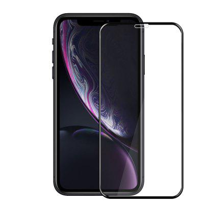 JOFLO 3D Full Screen Protector de vidrio templado para iPhone XR