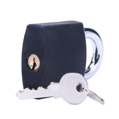 LOCKMALL New Transparent Exercise Lock (With Black Silicone Sleeve)