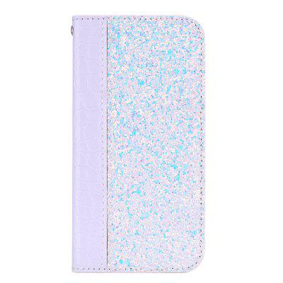 Luxury Bling Glitter Magnetic Crocodile Stripes Cover Case for iPhone 7 / 8