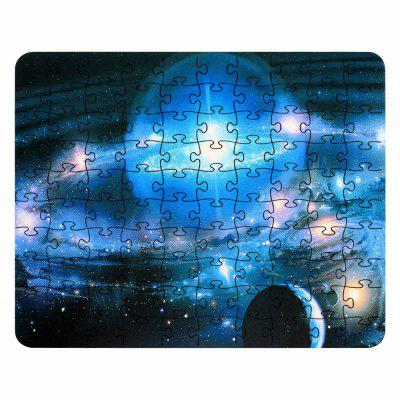 3D Jigsaw Space Light  Paper Puzzle Block Assembly Birthday Toy