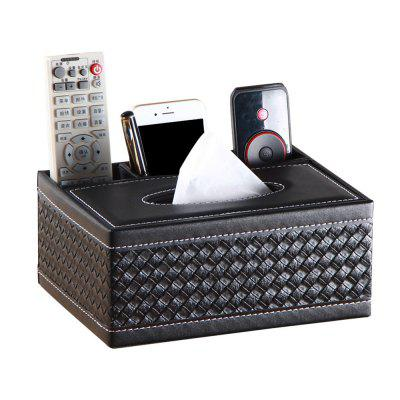 Multi Function Tissue Remote Control Storage Box