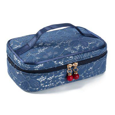 Fashion Women Travelling Lace Makeup Bag