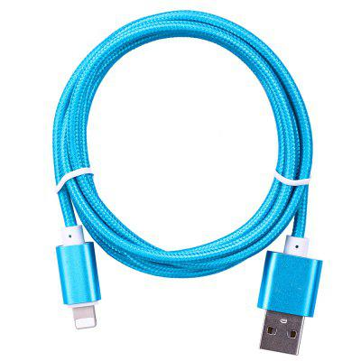 Nylon Braided Rope Data Transfer 1.5M Phone Cable for iPhone