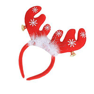 Christmas Ornament  Feathered Antler Headband
