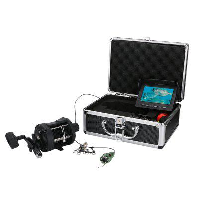 4.3 Inch Aluminum alloy Underwater Fishing Video Camera Kit 6W IR LED Lights
