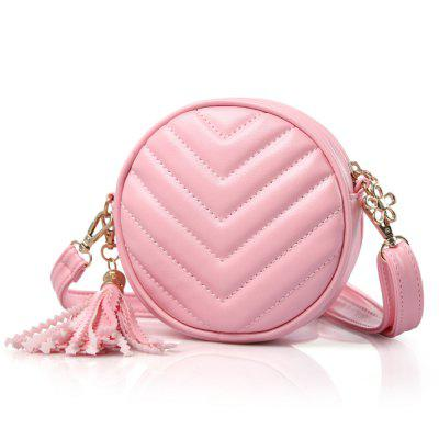 Girls Crossbody Princess Shoulder Fashion Small Round Bag