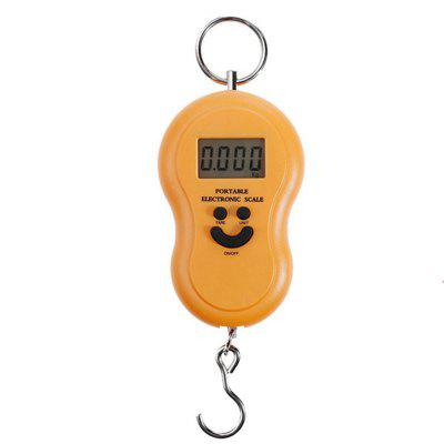 Dreamyth Portable 50KG 5G LCD Digital Fish Hanging Lug Gage Weight Hook Scale