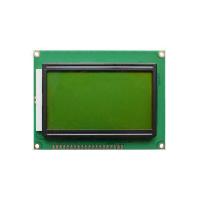 Yellow Green  LCD12864 LCD Screen With Backlight