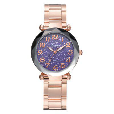 P694 Fashion Popular Starry Classic Digital Stainless Steel Watch