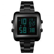 SKMEI Dual Time Sports Business Herrklocka