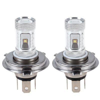 High Quality 30W Car LEDs 6SMD H4 CREE LED Fog DRL Lamp Bulb White