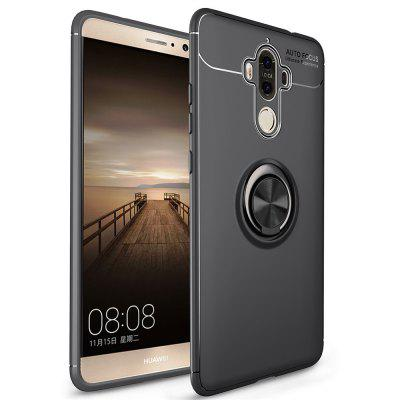 Stand Magnetic Bracket Finger Ring Phone Cover Case for HUAWEI Mate 9