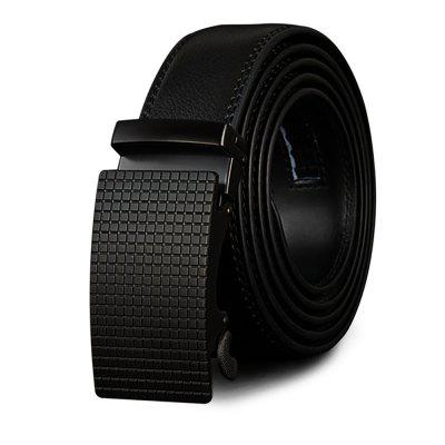 COWATHER Fashion Casual Leather Automatic Buckle Business Men's Belt