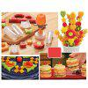 Fruit Salad Carving Vegetable Fruit Arrangements Smoothie Cake Tool - ORANGE