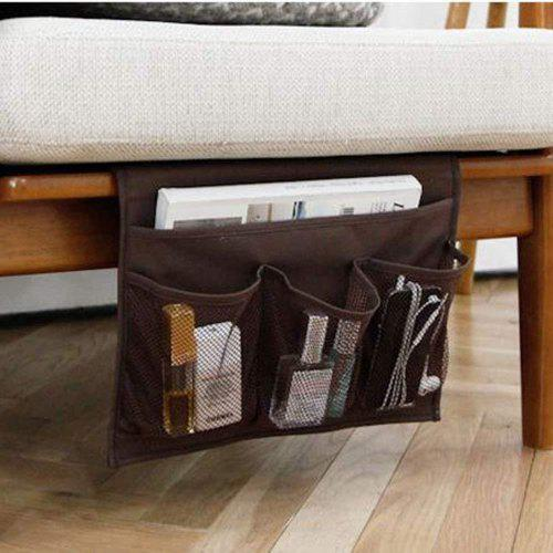 Sofa Couch Bedside Pocket Organizer Storage Remote Control Holder