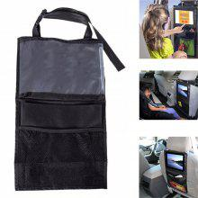 Back Car Seat Organizer Tidy With Tablet Holder Travel Storage Bag