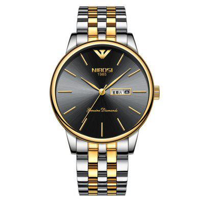 NIBOSI Date Clock Casual Men's Sport Water Resistant Watch
