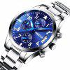 Nibosi Men Luxury Sport Chronograph Date Watches - BLUE