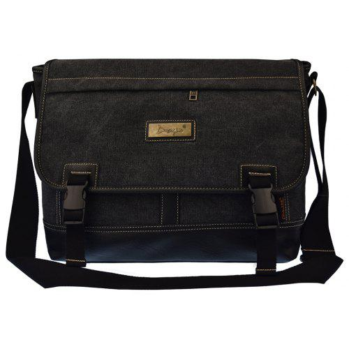 Douguyan Men s Canvas Shoulder Vintage Messenger Crossbody Bag -  33.96  Free Shipping 7bce4d8ab8e06