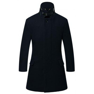 Mélanges de laine pour hommes Design Down Fashion Coat Casual Design