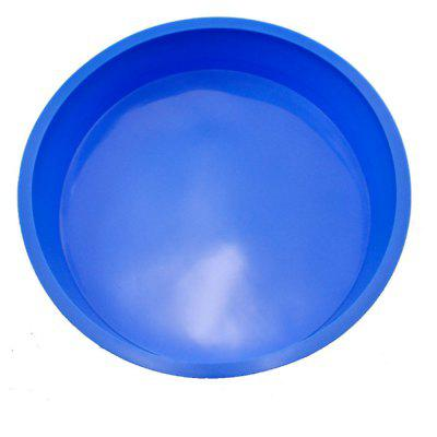 Blue Large Disc siliconen cakevorm
