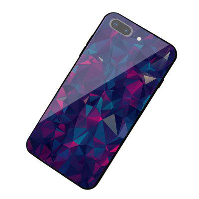 Psychedelic Diamond Cut Glass Protective Hard Case for iPhone 7 Plus / 8 Plus